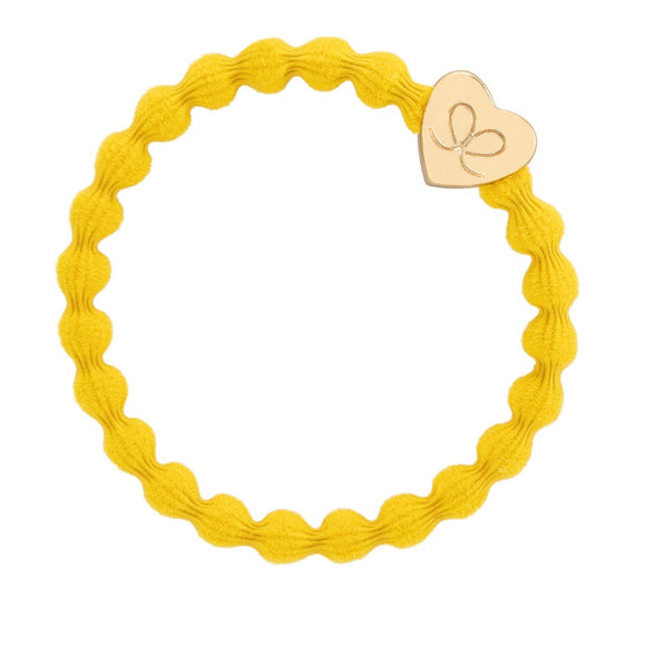 Gold Heart Band - Yellow