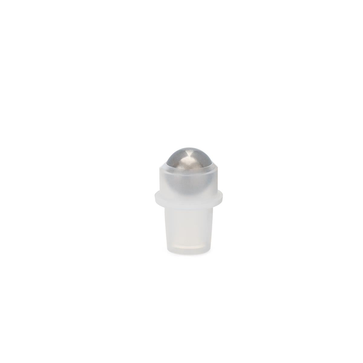 15.9mm Assembled PE Fitment and SS Ball (for 10ml vial #4-08022)