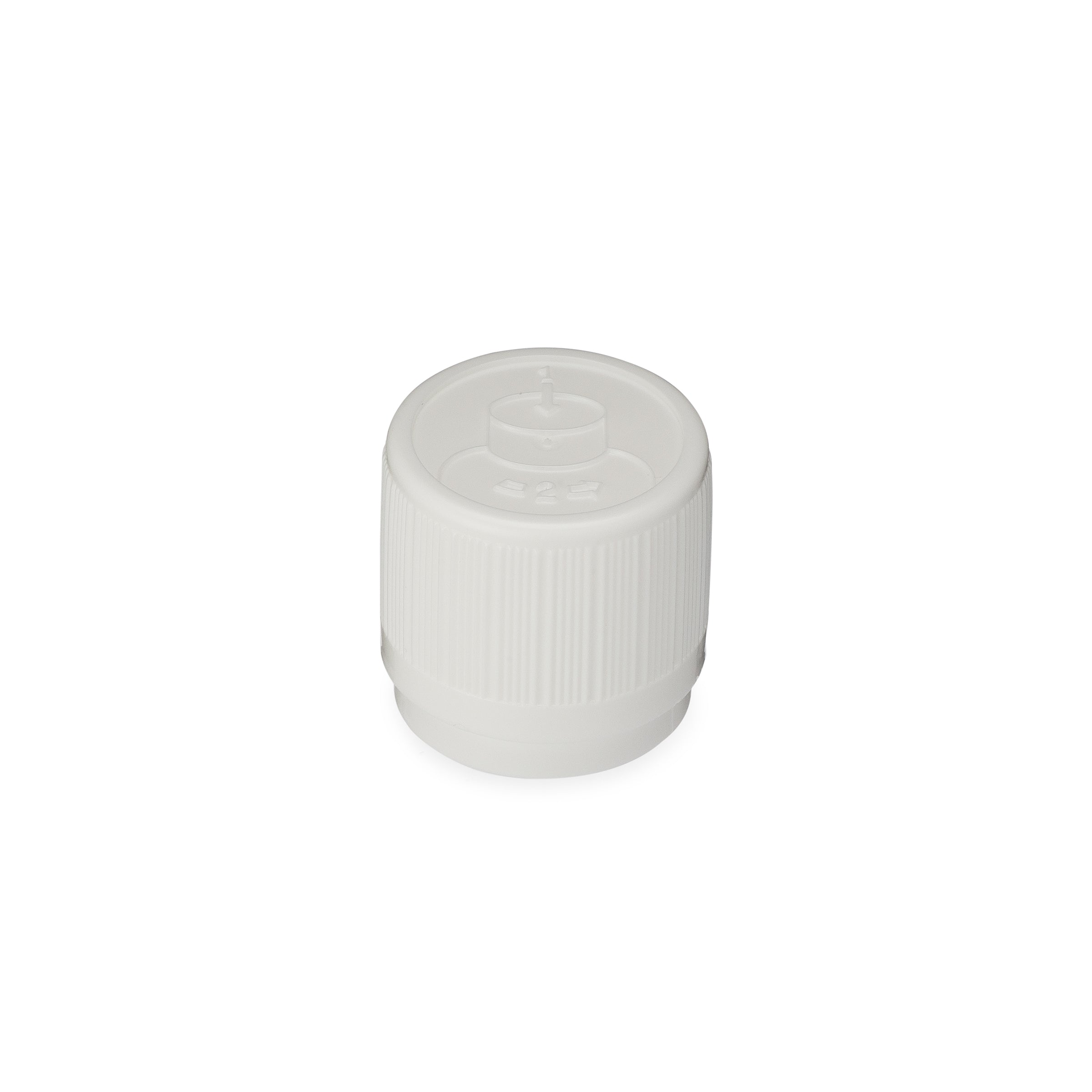 Child Resistant /  Tamper Evident Eurodrop Cap with Syringe Adaptor - 2-18136