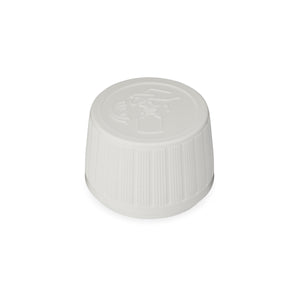 Child Resistant /  Tamper Evident PP28 Syrup Cap  with Pouring Aid