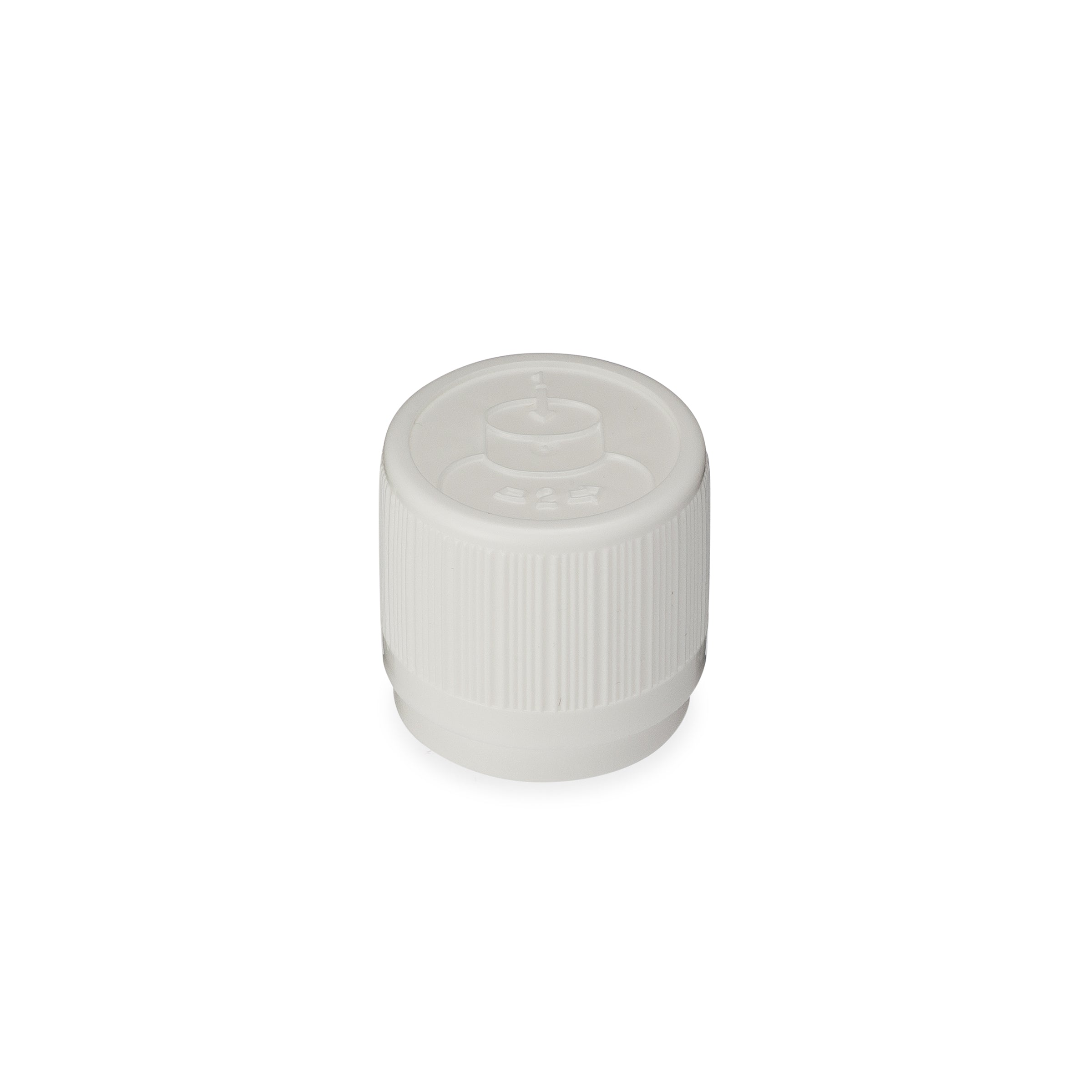 Child Resistant /  Tamper Evident EuroDrop® Cap with Pouring Aid - 2-18172