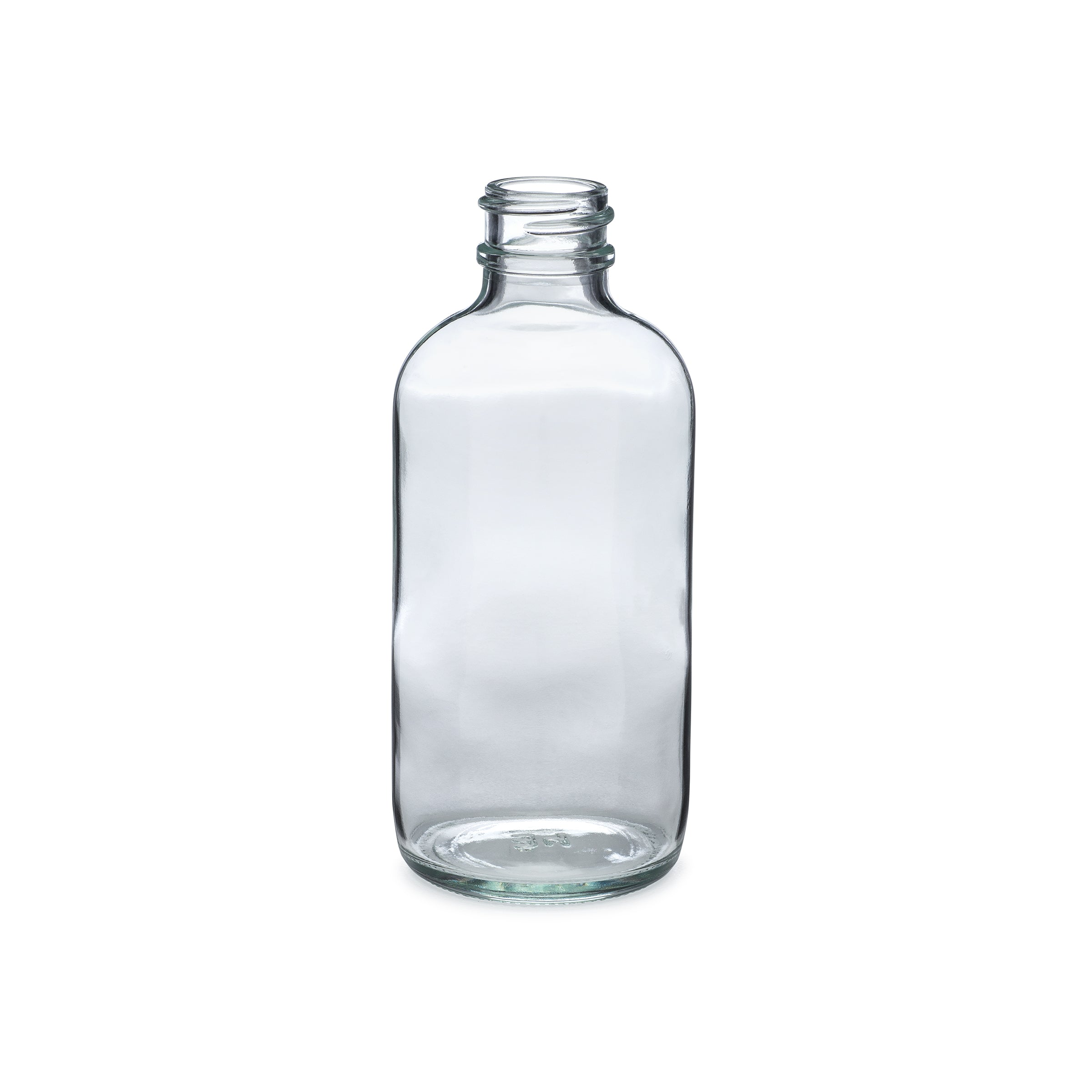 4oz/120ml Flint Boston Round Bottle