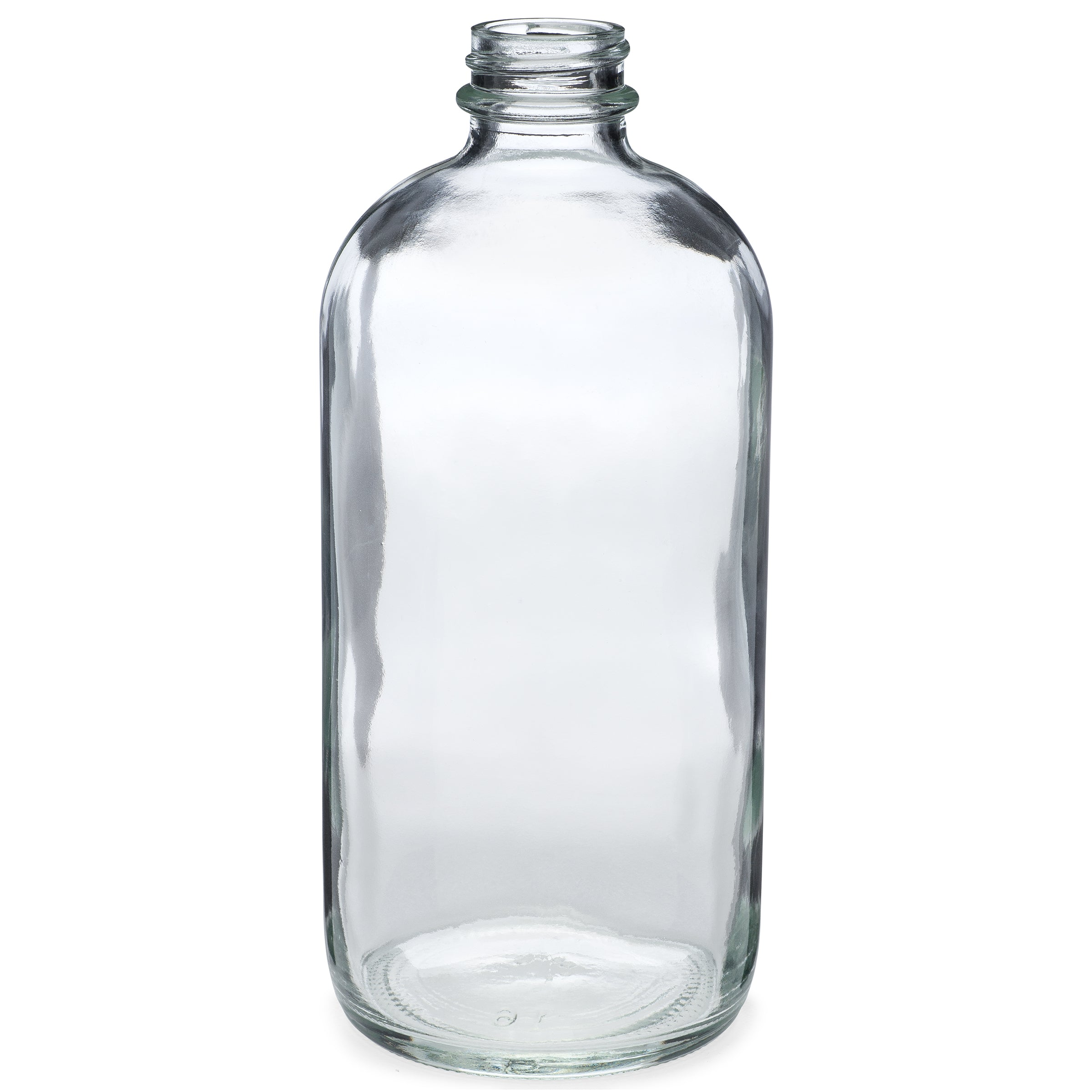 16oz/480ml Flint Boston Round Bottle