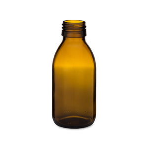 125ml Amber Syrup Bottle
