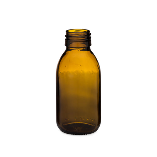 100ml Amber Syrup Bottle