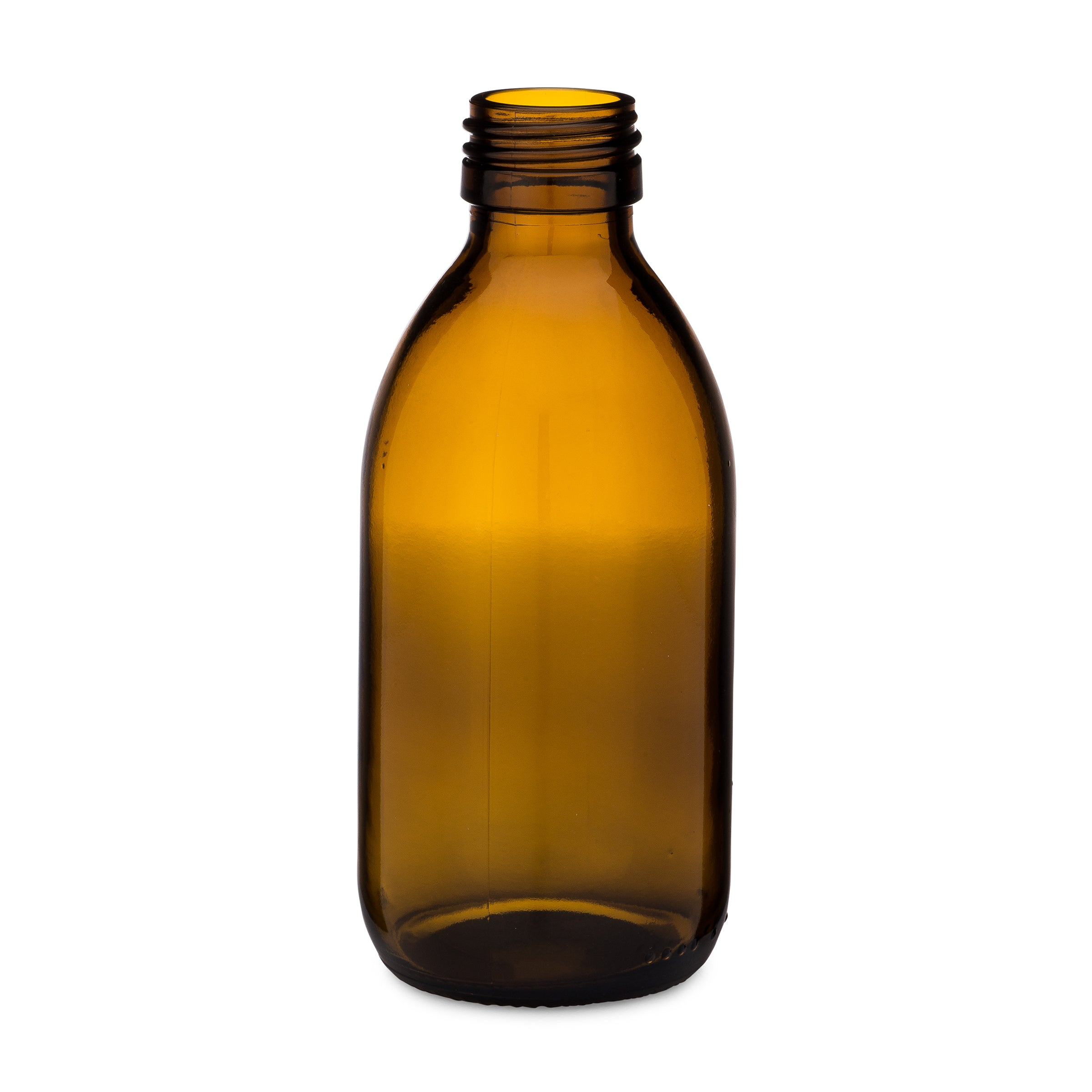 200ml Amber Syrup Bottle