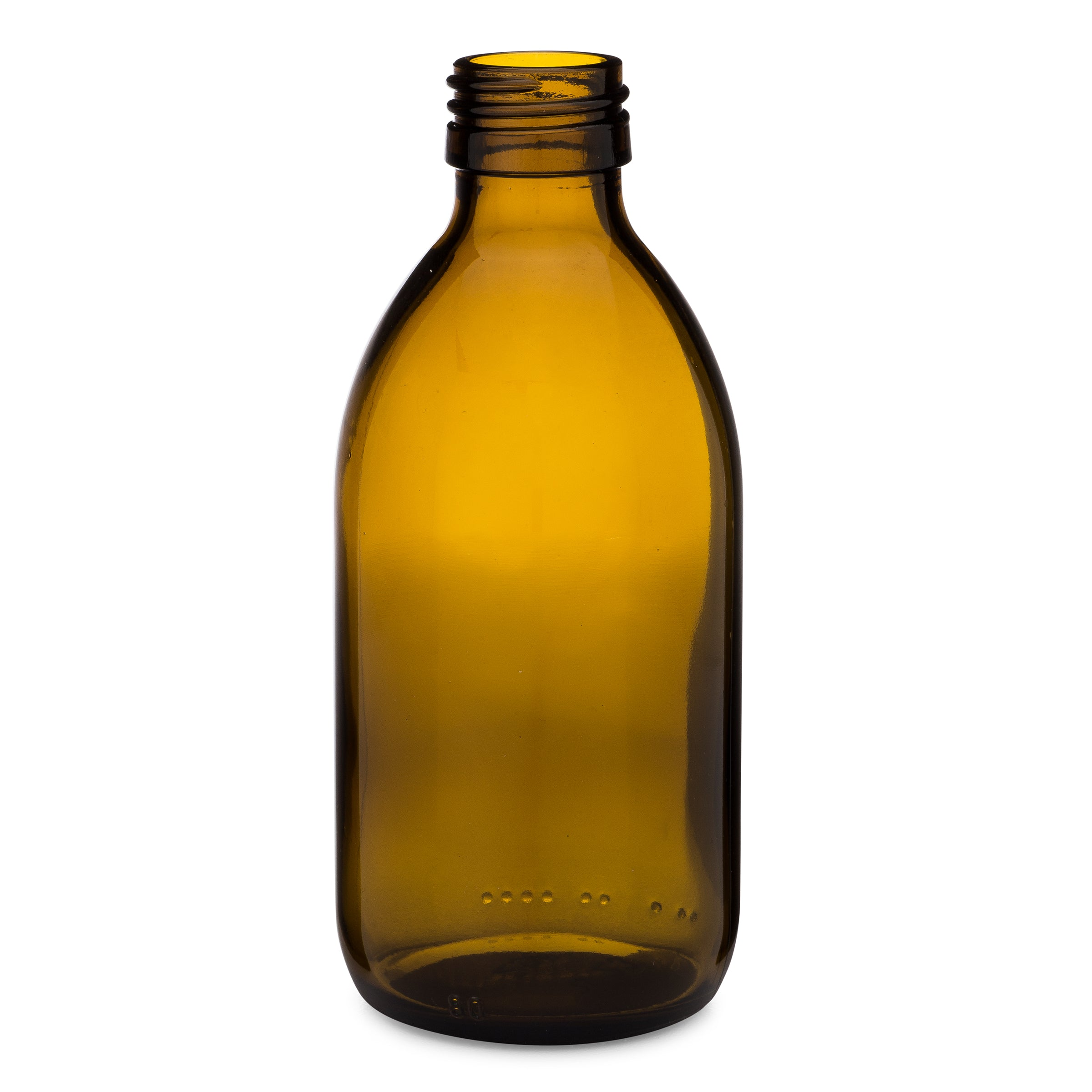 250ml Amber Syrup Bottle