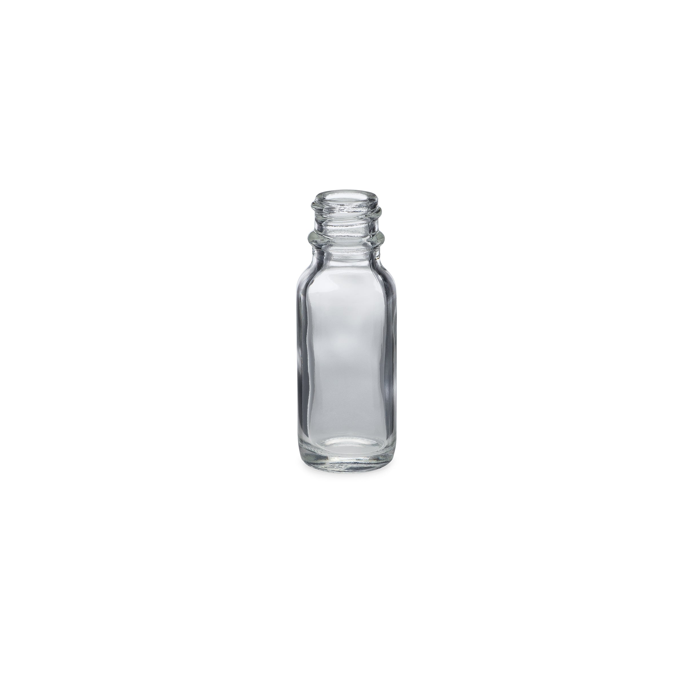 0.5oz/15ml Flint Boston Round Bottle