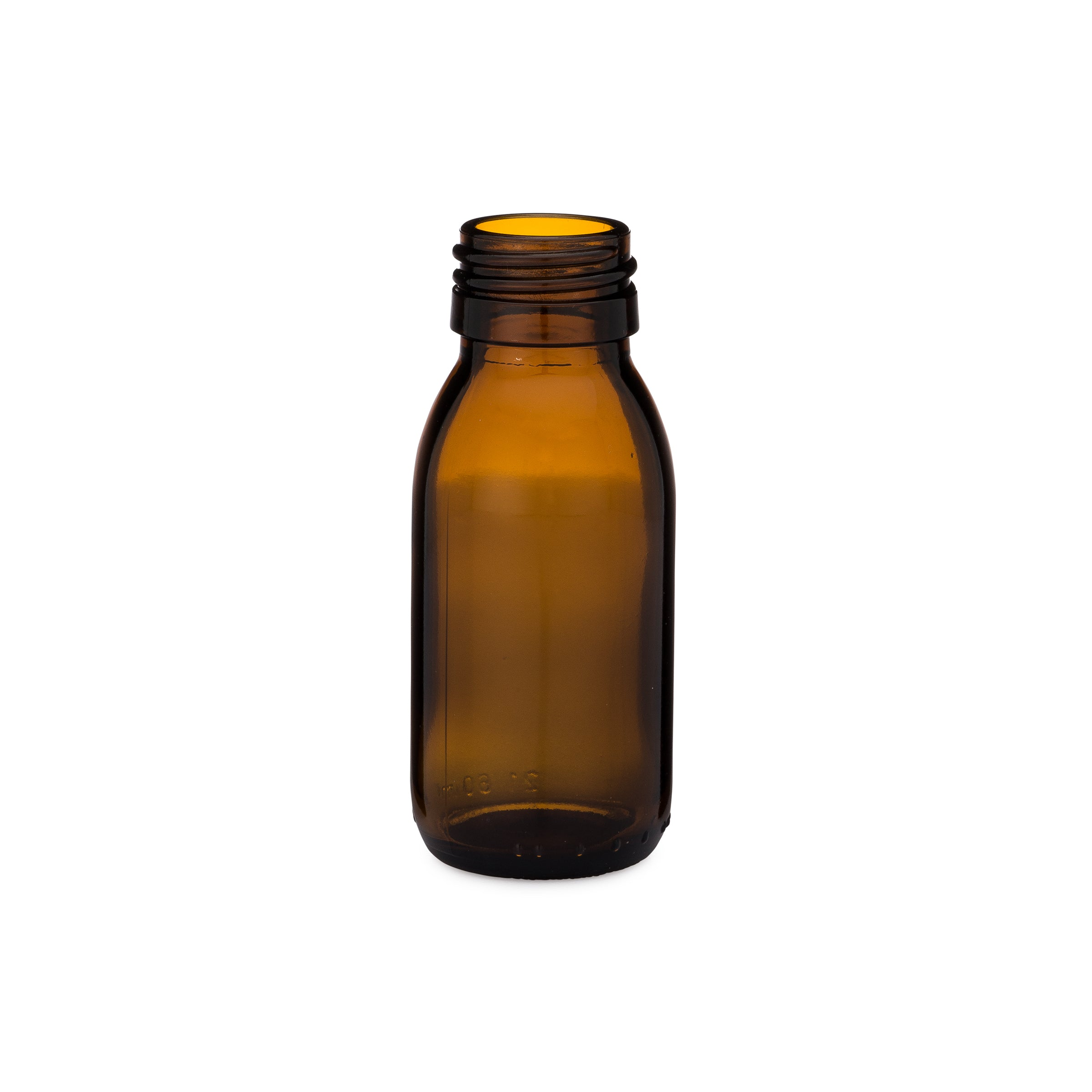 60ml Amber Syrup Bottle - 4-19094