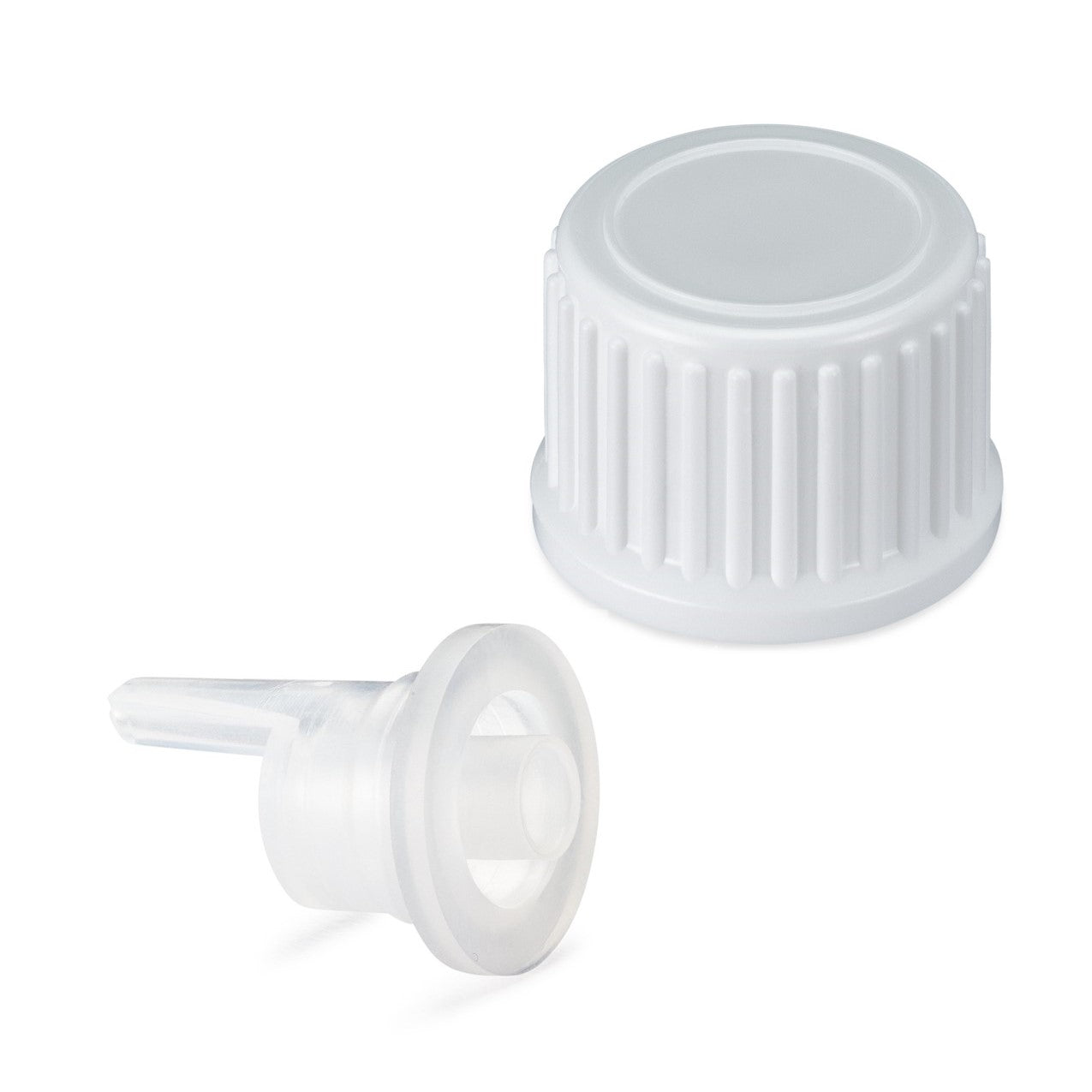 *USA* Regular EuroDrop® Cap assembled to 0.7mm Vertical Dropper Insert