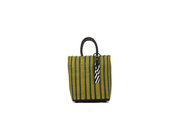 TRUSS Small Tote in Yellow/Blue