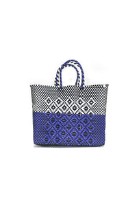 TRUSS Small Tote in Half Dip Purple