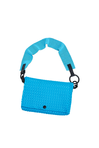 Truss Beaded Baguette - Blue