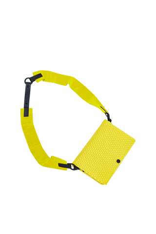 Truss Beaded Bum Bag - Yellow
