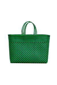 Truss Large Tote Bag - Green