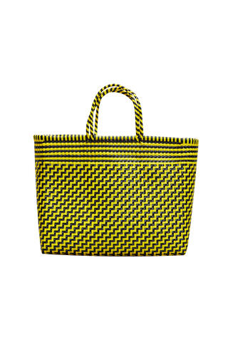 Truss Large Tote Bag - Yellow