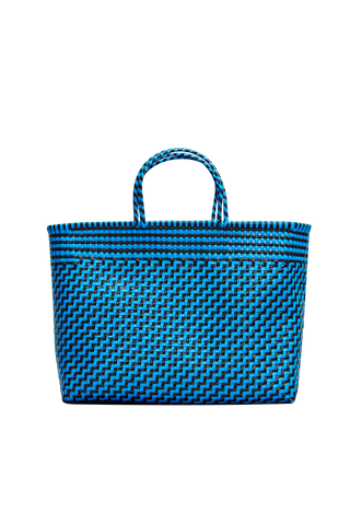 Truss Large Tote Bag - Blue