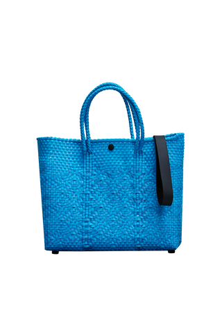 Truss Crossbody Tote - Blue