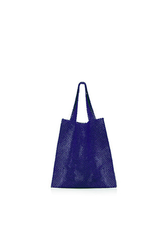 TRUSS Beaded Party Bag in Blue