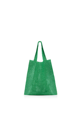 TRUSS Beaded Party Bag in Green
