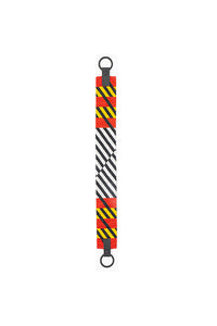 TRUSS Glass Bead Strap in Red