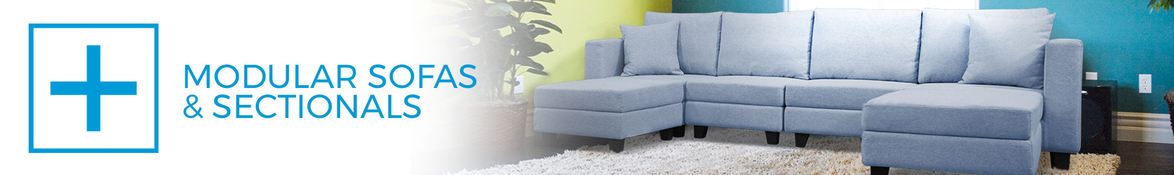Modular Sofas & Sectionals - Small Space Plus - Toronto