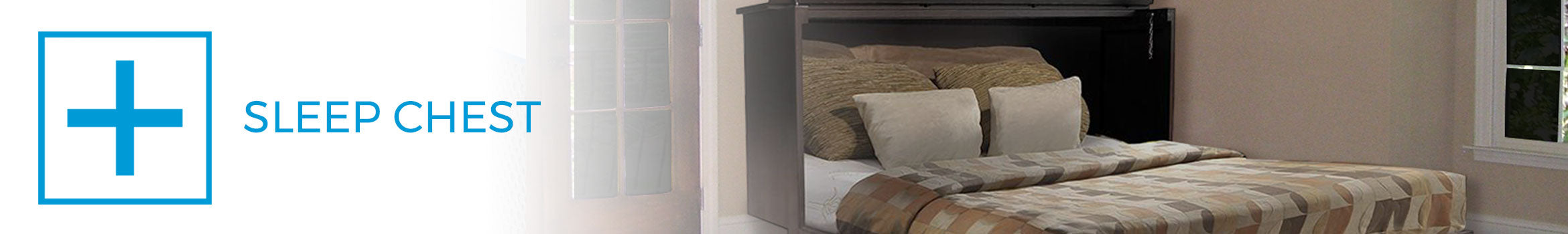 sleep chest murphy bed alternative small space plus. Black Bedroom Furniture Sets. Home Design Ideas