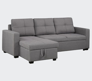 "Battersea 85"" Sectional Sofa with Storage"