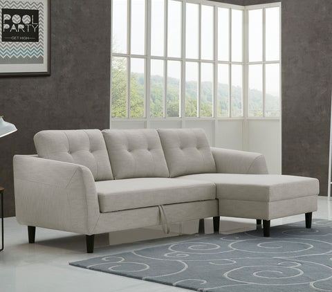 "Yorkville 88"" Sectional Sofa Bed"