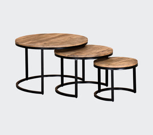 Roddy 3 Piece Coffee Table Set