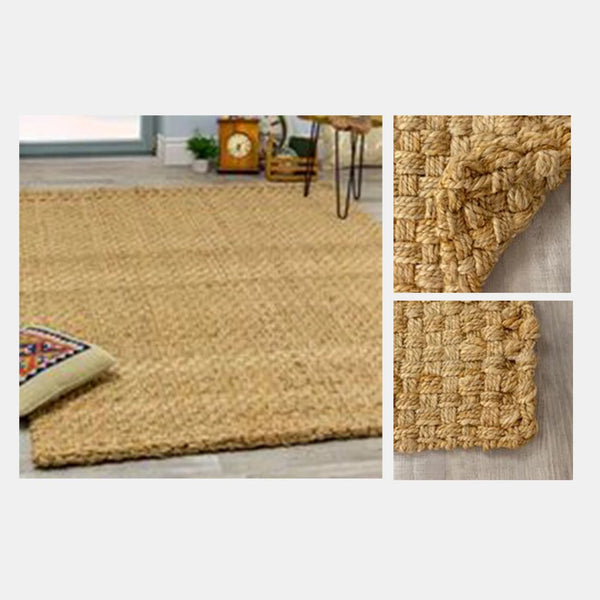 Naturals Interlaced Solid Rug