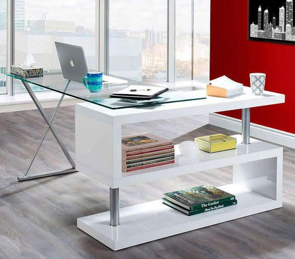 Ambrose Swivel Desk - Small Space Furniture Toronto