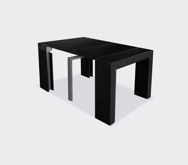 Duke Glossy 4-Panel Extension Table