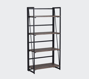 Backer 4 Tier Bookcase | Small Space Plus