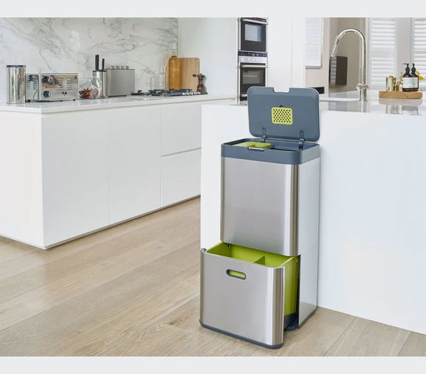 Intelligent Waste™ TOTEM 60 Waste Bin | Small Space Plus