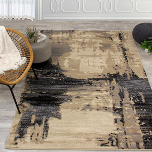 Platinum Distressed Rug