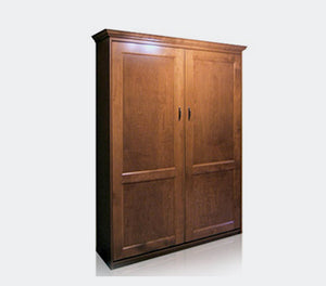 Provencale Wood Vertical Murphy Wall Bed