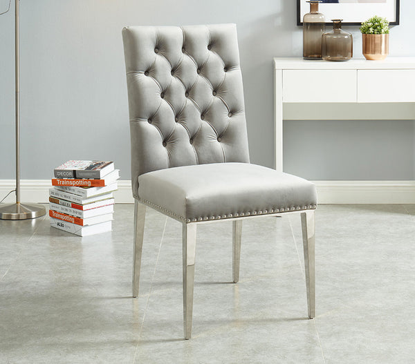 "Ronald 21"" Tufted Accent Chair (2 Pieces)"