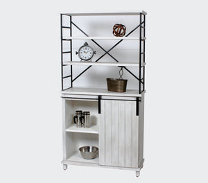 Sage Storage Cabinet With Sliding Door