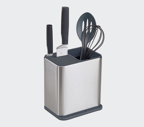 Surface™ Stainless-Steel Utensil Holder | Small Space Plus