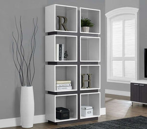 Terry Cube Bookcase,White / Grey