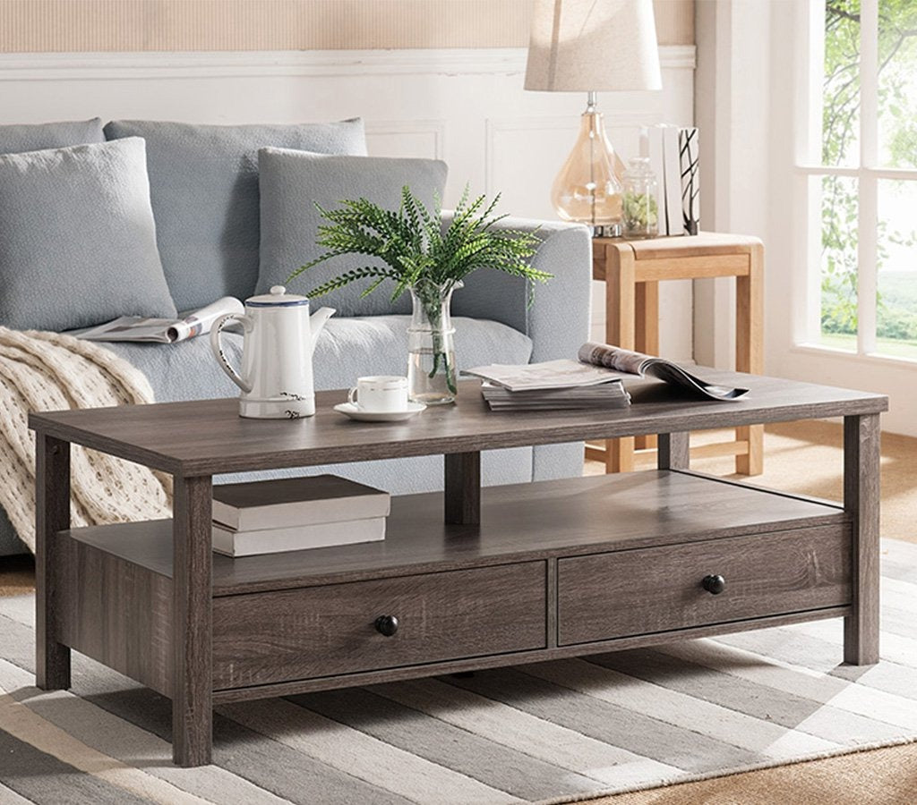 "Venia 47"" Coffee Table with drawers"