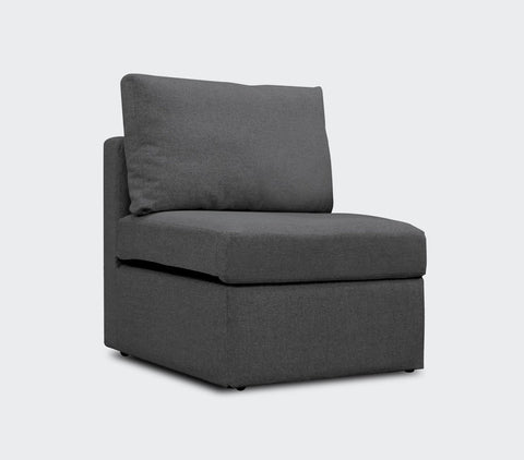 Kingston Armless Storage Chair