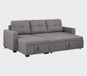 "Battersea 85"" Sectional Sofa Bed with Storage"