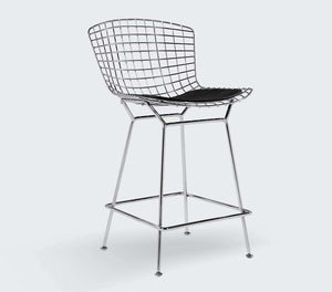 Bertoia Bar + Counter Stool