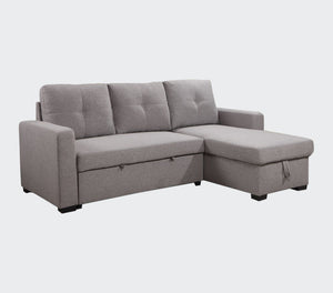 "Davisville 88"" Sectional Sofa Bed with Storage"