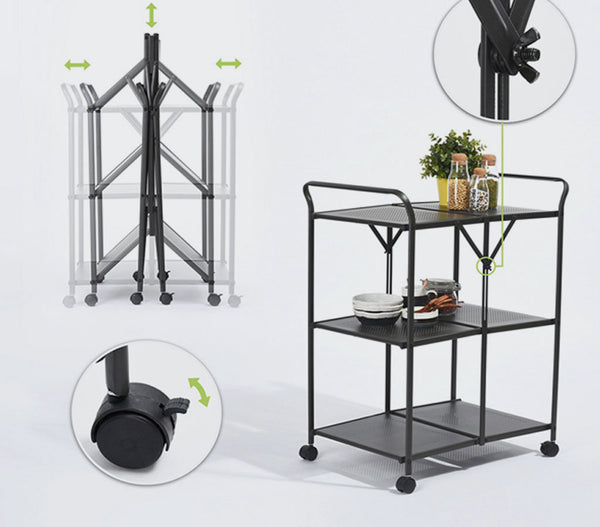 Elias Collapsible Storage Trolley | Small Space Plus