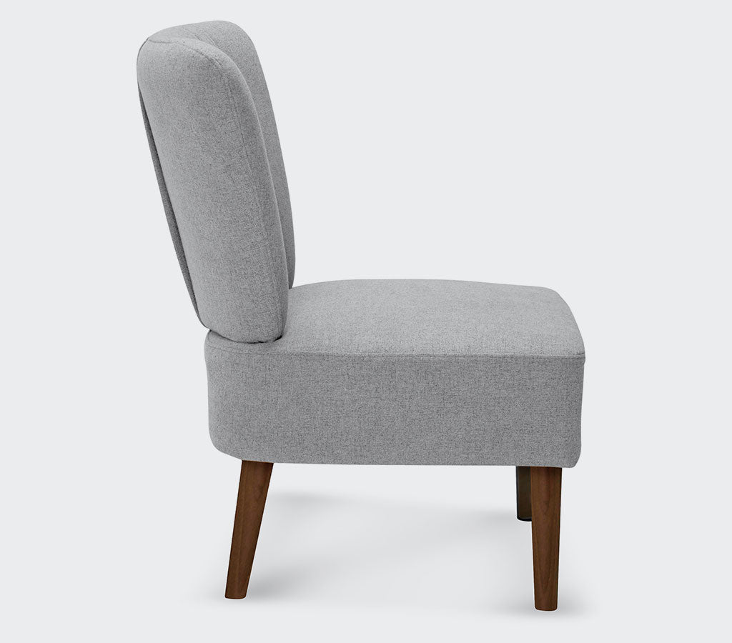 Small Apartment Accent Chairs.Fisher Modern Slipper Accent Chair Small Space Plus