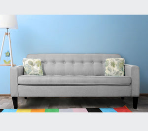 "Holt 80"" Button Tuft Sofa 
