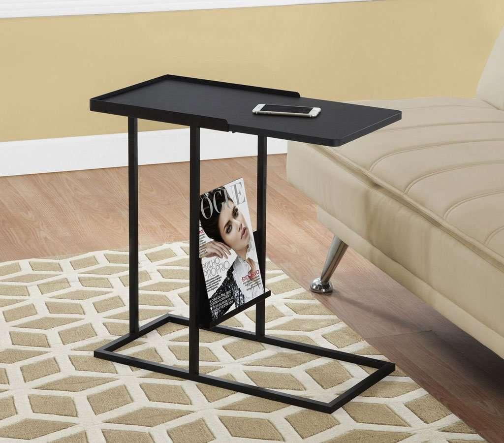 Alliance Side Table,Black - Small Space Furniture Toronto